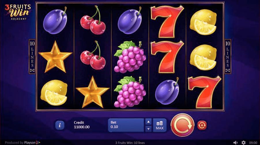 3 Fruits Win Online Slot
