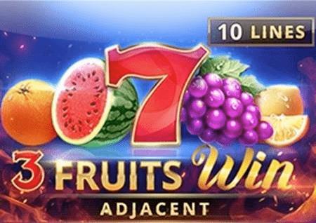 3 Fruits Win – una bahati sana kwani unahitaji matunda matatu matamu!