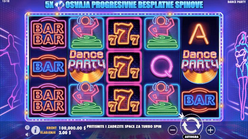Dance Party - Online Slot