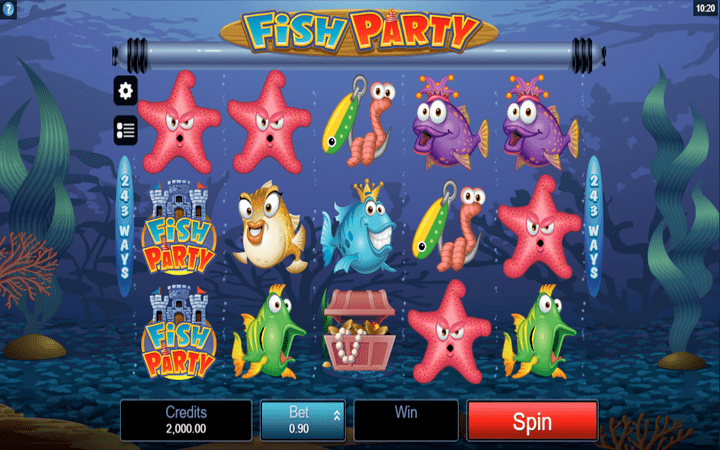 Fish Party Slot MicroGaming Tanzania