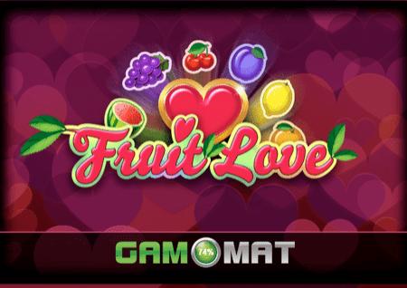 Sloti ya Fruit Love – mioyo mwekundu na nyota – jokeri wako wa bahati!