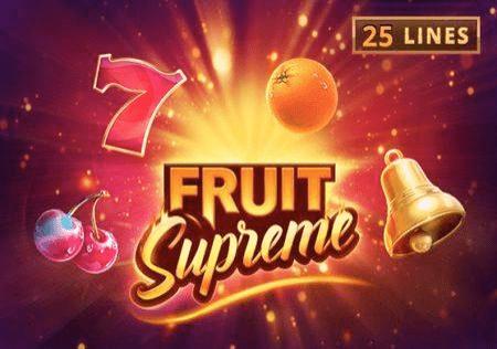 Sloti ya Fruit Supreme – pata hisia za utamu wa matunda yenye nguvu!