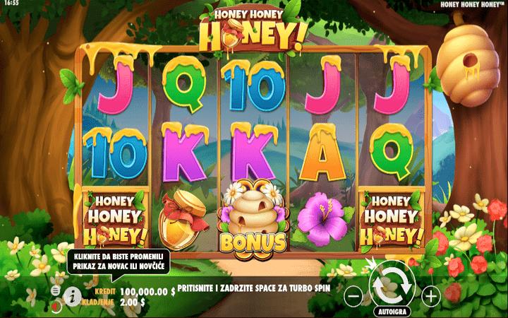 Honey Honey Honey - Online Slot - GamePlay