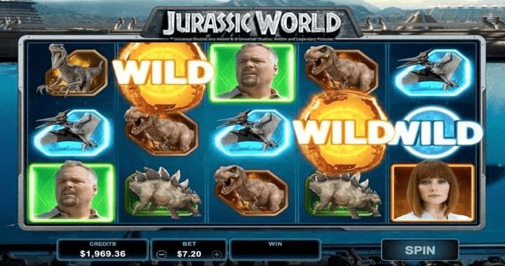 Jurassic World - Online Slot