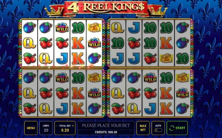 4 Reel King - Tuzo ya Wafalme!