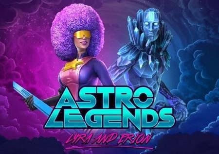 Astro Legends – uhondo wa angani unaoburudisha katika sloti!