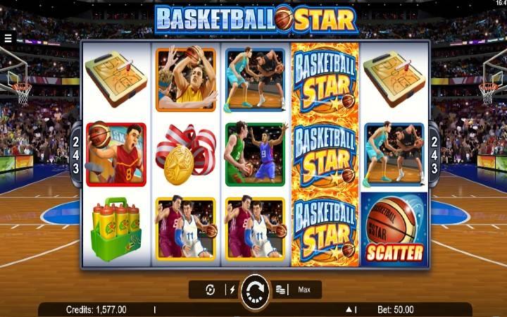 Alama za Basketball Star