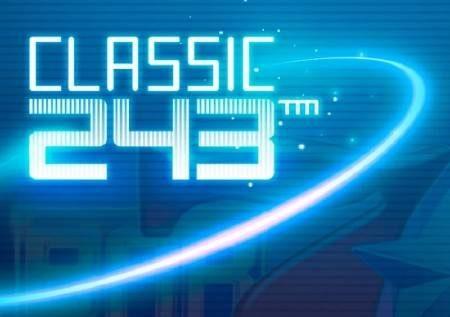 Classic 243 – mwanga wa neon unaletwa na sloti bomba ya mtandaoni!
