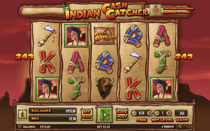 Alama za sloti ya Indian Cash Catcher