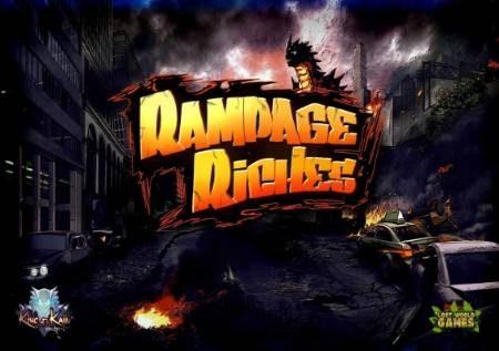 Rampage Riches – utamu katika muundo wa sloti yenye bonasi zaidi!