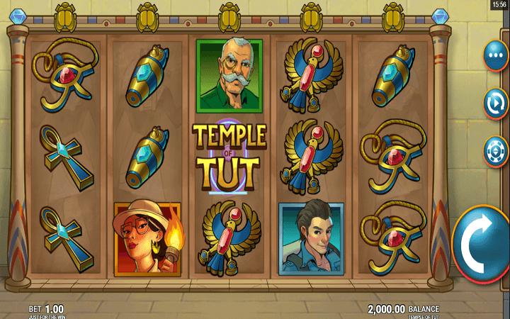 Alama ya Temple Of Tut