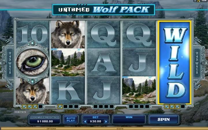Untamed Wolf Pack - jokeri hubadilika kuwa jokeri tata