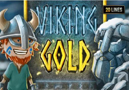 Sloti ya video ya The Viking Gold inakuletea barafu nzuri tatu zenye jakpoti!