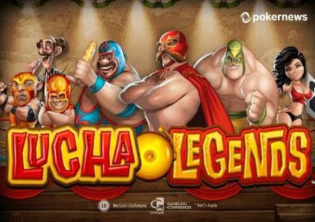 Lucha Legends – gemu ya kasino ambayo inakupeleka kwenye ulingo!