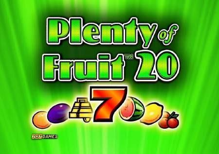 Plenty of Fruit 20 – hadithi ya utajiri wa matunda katika gemu ya kasino!
