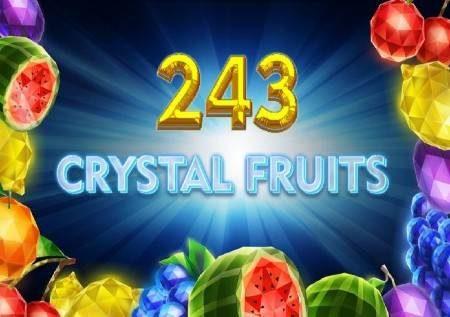 243 Crystal Fruits – miti ya matunda iliyoangazwa na mng'ao wa kioo