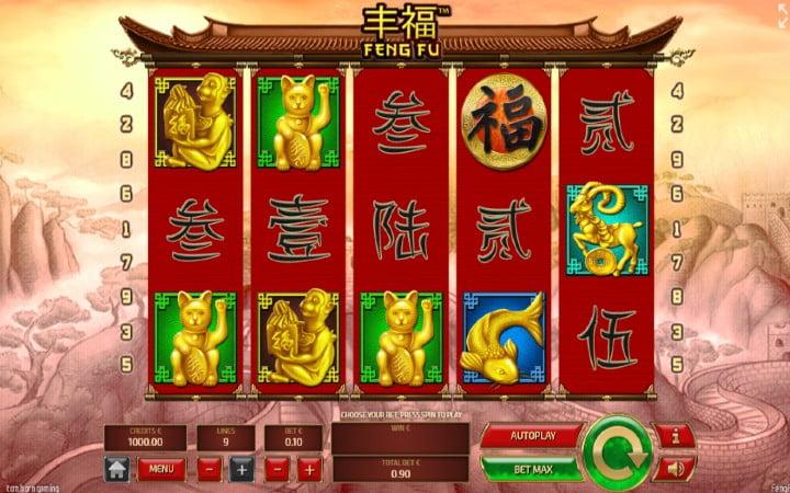 Feng Fu, bonasi za kasino mtandaoni