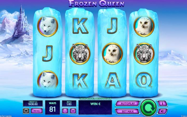 Frozen Queen, Bonasi ya Kasino Mtandaoni