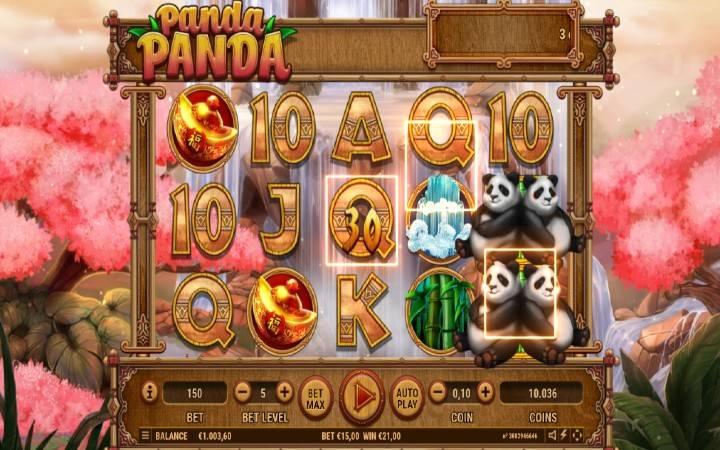 Alama za sloti za Panda Panda