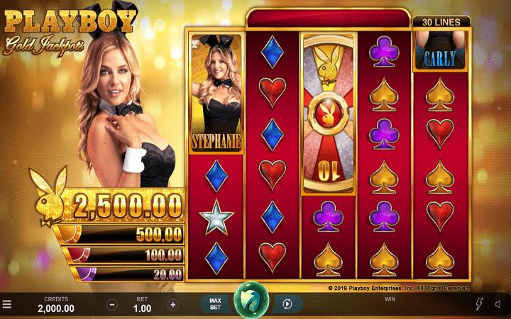 Playboy Gold Jackpot - sloti nzuri ya video na chaguzi nyingi!