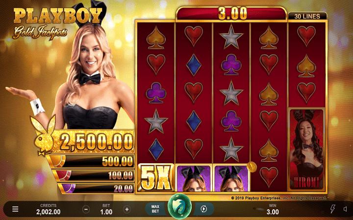 Alama za sloti ya Playboy Gold Jackpot