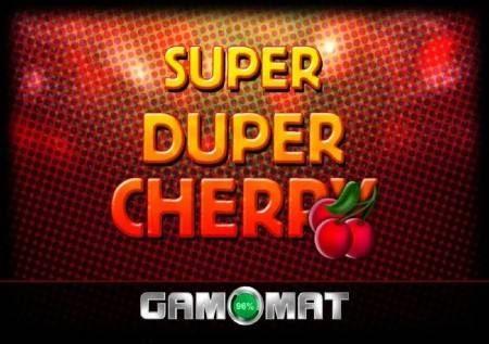 Super Duper Cherry – cherries zinaficha kionjo cha bonasi!