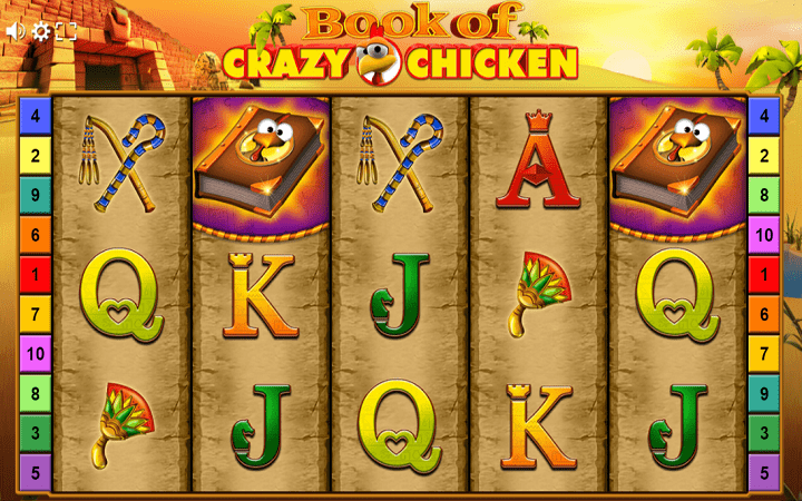 Book of Crazy Chicken - toleo jipya la safu ya vitabu