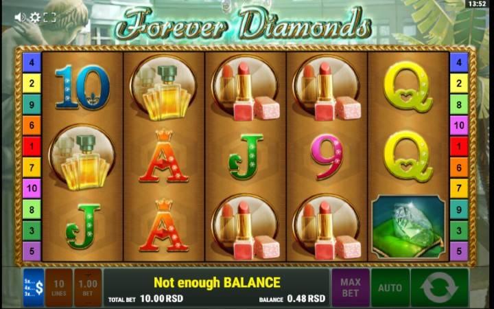 Forever Diamonds - mchezo mzuri wa kasino!