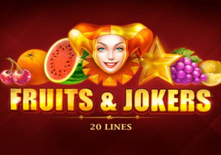 Fruits and Jokers: 20 Lines – dozi kamili ya burudani!