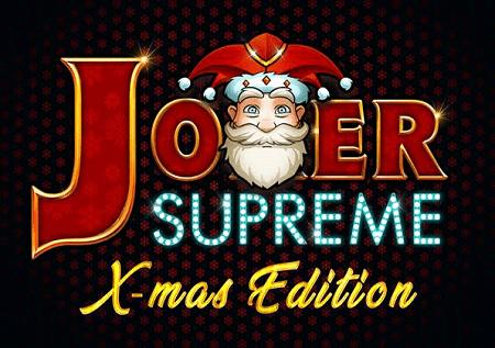 The Joker Supreme X-Mas Edition inatengeneza zawadi ya pekee!