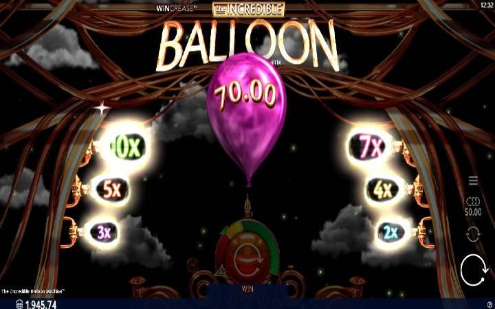 The Incredible Balloon Machine - mchezo mzuri na huduma za ziada