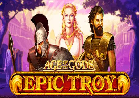 Age of the Gods: Epic Troy – shinda jakpoti zenye nguvu kubwa!