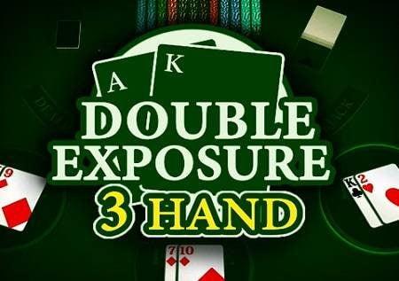 Blackjack Double Exposure 3 Hand – kila kitu kinazunguka katika 21!