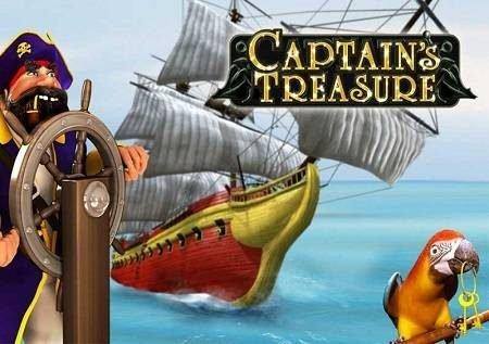 Captain's Treasure – haramia tajiri anakamatwa katika sloti ya video