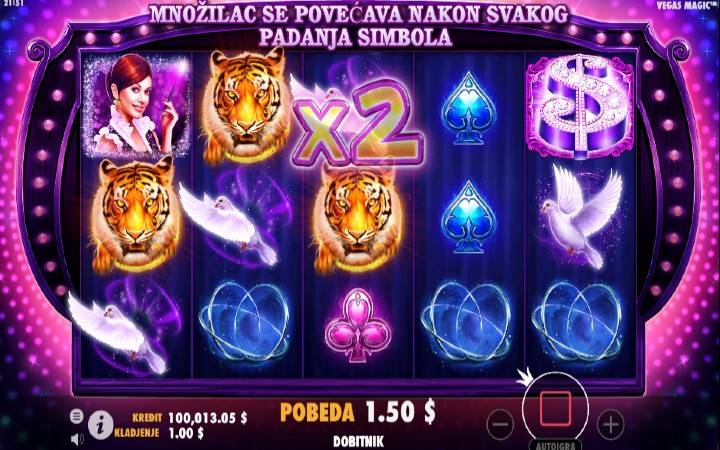 Vegas Magic, Pragmatic Play