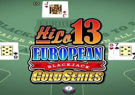 Hilo 13 European Blackjack Gold – alama kamilifu!