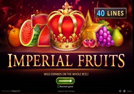 Imperial Fruits: 40 Lines – burudani ya kifalme katika sloti ya video