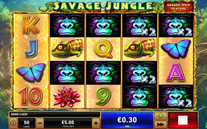 Makala ya Savage Jungle