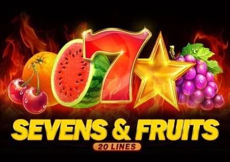 Sevens and Fruits: 20 Lines – sloti bomba ambayo inaangazia