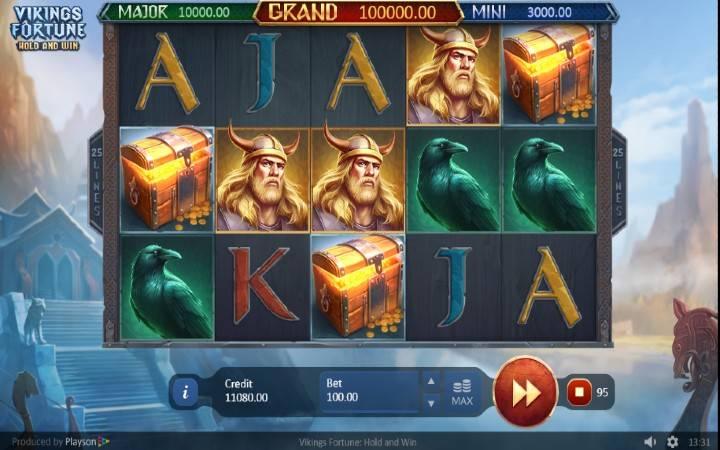 Alama za sloti Vikings Fortune: Hold and Win