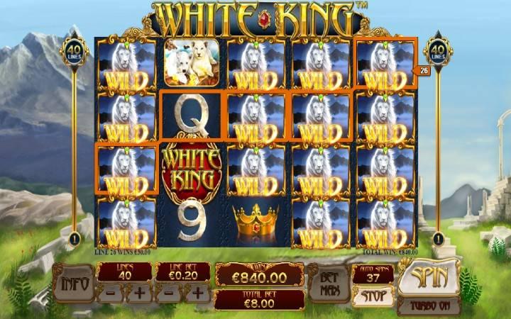 Alama za sloti ya White King