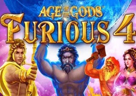 Age of the Gods: Furious 4 – jakpoti za kushibisha!