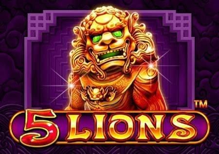 5 Lions – raha ya kasino katika njia za simba!