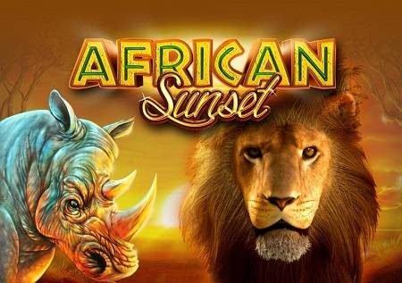 African Sunset inakukaribisha katika wanyama wa savana!