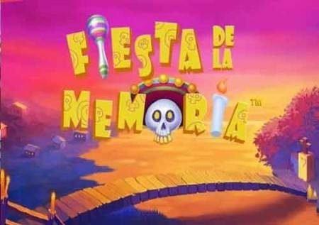 Fiesta De La Memoria – sherehe ya bonasi ya kasino!