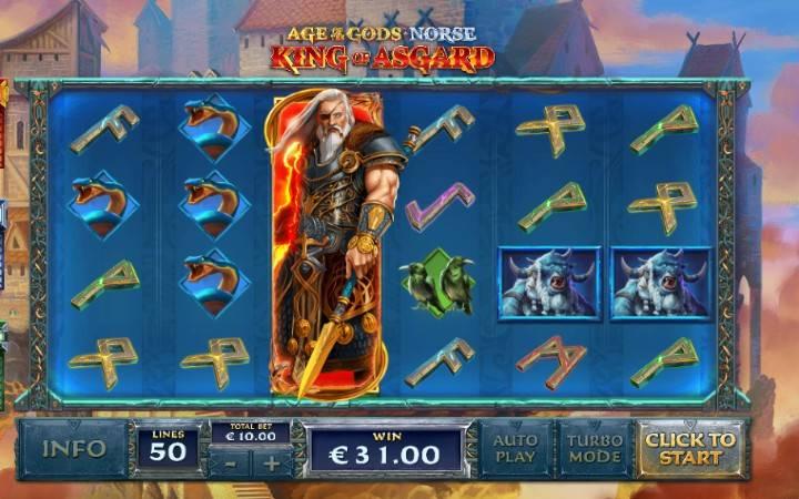 Hasira ya Bonus Odin, King of Asgard
