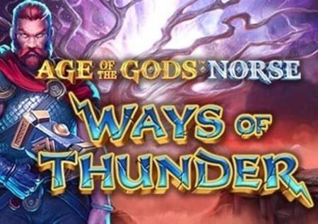 Ways of Thunder – gemu ya kasino yenye miunganiko 3,125 ya ushindi!