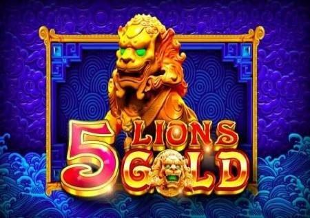 5 Lions Gold – gemu ya kasino inaleta jakpoti na bonasi!