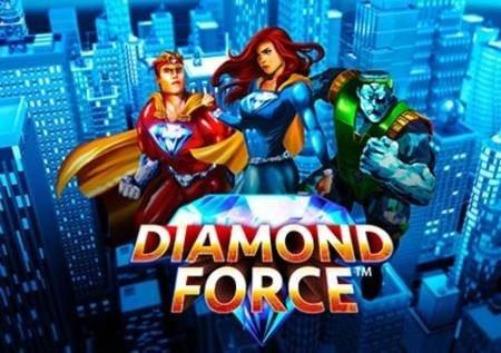Diamond Force – sloti ya almasi ya bonasi za kasino!