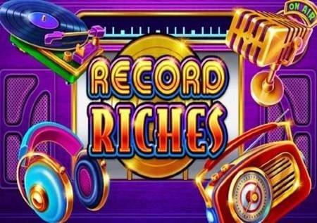 Record Riches – chati ukiwa na sloti ya video yenye muziki
